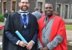 Iain Paton and Dr Denis Kalumba